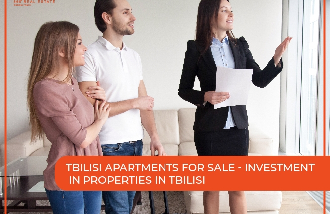 tbilisi apartments for sale – Investment in properties in Tbilisi